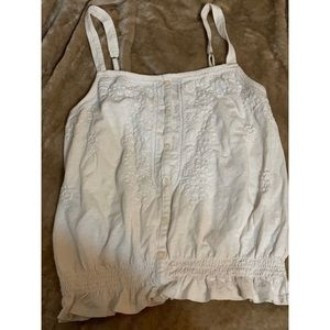 Cream AE tank size Small